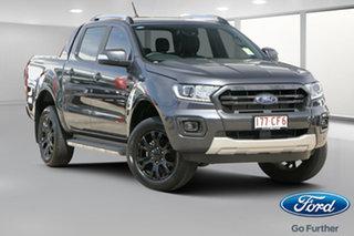 2021 Ford Ranger PX MkIII 2021.75MY Wildtrak Meteor Grey 10 Speed Sports Automatic.