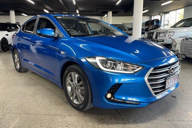 Used Hyundai Elantra AD MY17 Active Albion, 2017 Hyundai Elantra AD MY17 Active Blue 6 Speed Sports Automatic Sedan