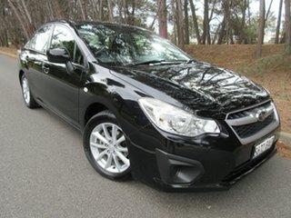 2013 Subaru Impreza G4 MY13 2.0i Lineartronic AWD Black 6 Speed Constant Variable Sedan.