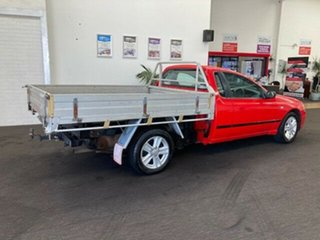 2005 Ford Falcon BA Mk II Tradesman Super Cab Red 4 Speed Sports Automatic Traytop.