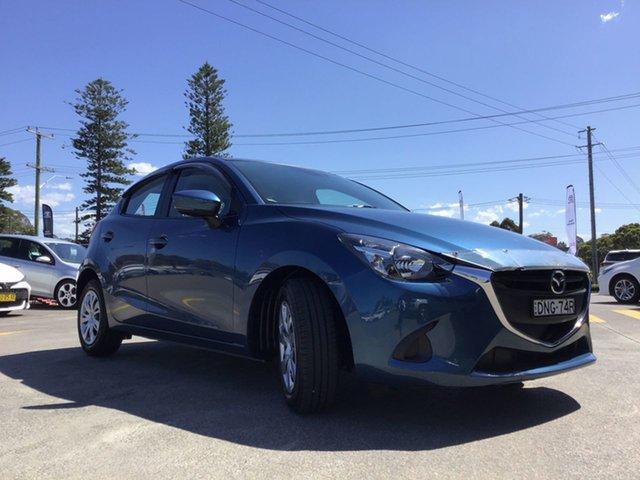Pre-Owned Mazda 2 DJ2HAA Neo SKYACTIV-Drive Cardiff, 2017 Mazda 2 DJ2HAA Neo SKYACTIV-Drive Blue 6 Speed Sports Automatic Hatchback
