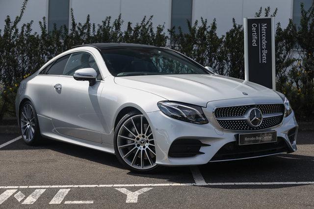 Certified Pre-Owned Mercedes-Benz E-Class C238 E400 9G-Tronic PLUS 4MATIC Mulgrave, 2017 Mercedes-Benz E-Class C238 E400 9G-Tronic PLUS 4MATIC Selenite Grey 9 Speed Sports Automatic