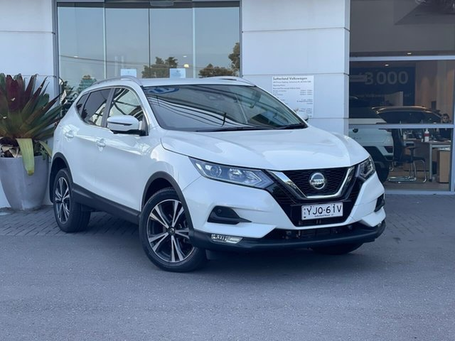 Used Nissan Qashqai J11 Series 3 MY20 ST-L X-tronic Sutherland, 2019 Nissan Qashqai J11 Series 3 MY20 ST-L X-tronic White 1 Speed Constant Variable Wagon