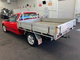 2005 Ford Falcon BA Mk II Tradesman Super Cab Red 4 Speed Sports Automatic Traytop