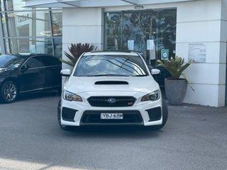 2018 Subaru WRX V1 MY18 STI AWD spec.R White 6 Speed Manual Sedan.