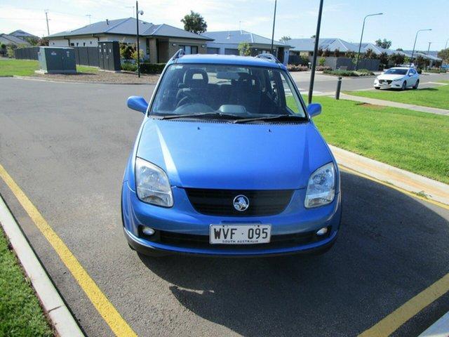 Used Holden Cruze YG Glenelg, 2002 Holden Cruze YG Blue 4 Speed Automatic Wagon