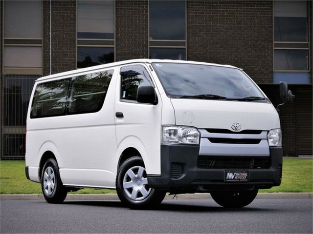 Used Toyota HiAce DX Braeside, 2015 Toyota HiAce KDH201V DX White 4 Speed Automatic Van
