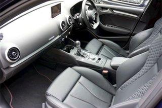 2018 Audi S3 8V MY18 S Tronic Quattro Navarra Blue 7 Speed Sports Automatic Dual Clutch Sedan