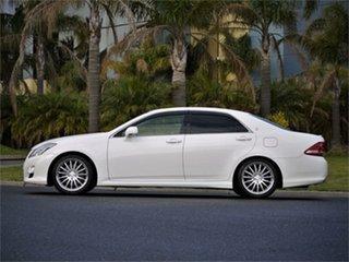 2008 Toyota Crown GRS204 Athlete White 6 Speed Automatic Sedan