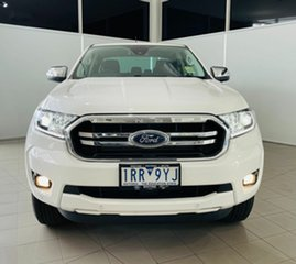 2020 Ford Ranger PX MkIII 2020.75MY XLT Hi-Rider Arctic White 10 Speed Sports Automatic.