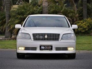2002 Toyota Crown JZS171 Athlete White 4 Speed Automatic Sedan.