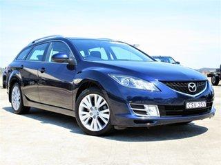 2008 Mazda 6 GH1051 Classic Blue 5 Speed Sports Automatic Wagon.
