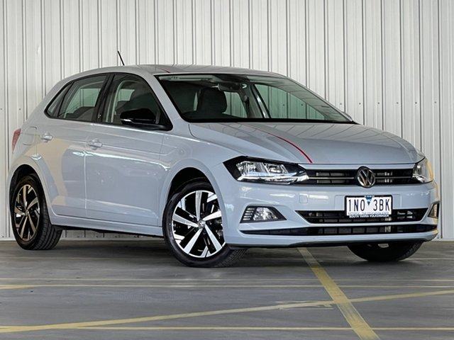 Used Volkswagen Polo AW MY18 beats DSG Moorabbin, 2018 Volkswagen Polo AW MY18 beats DSG Silver 7 Speed Sports Automatic Dual Clutch Hatchback