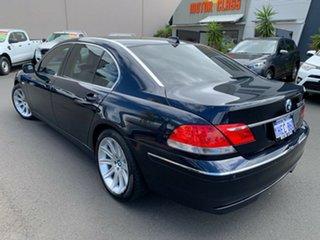2005 BMW 7 Series E66 750Li Steptronic Blue 6 Speed Sports Automatic Sedan.