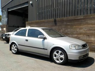2003 Holden Astra TS MY03 SRi Silver 4 Speed Automatic Hatchback.