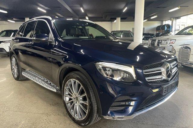 Used Mercedes-Benz GLC-Class X253 808MY GLC250 d 9G-Tronic 4MATIC Albion, 2017 Mercedes-Benz GLC-Class X253 808MY GLC250 d 9G-Tronic 4MATIC Blue 9 Speed Sports Automatic