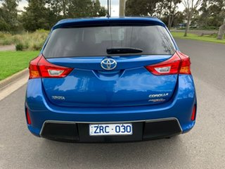 2013 Toyota Corolla ZRE182R Ascent Sport Blue 7 Speed Constant Variable Hatchback