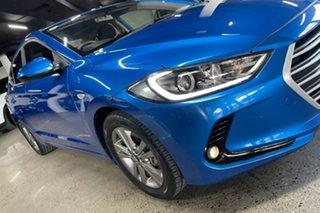 2017 Hyundai Elantra AD MY17 Active Blue 6 Speed Sports Automatic Sedan.