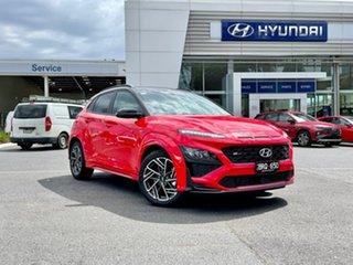 2021 Hyundai Kona Os.v4 MY21 N-Line D-CT AWD Premium Mf1 7 Speed Sports Automatic Dual Clutch Wagon.