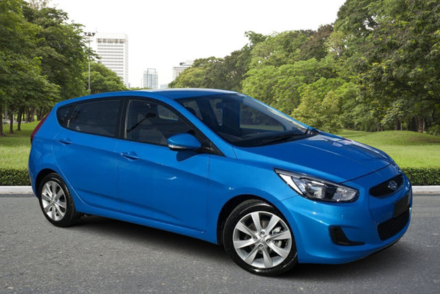 Used Hyundai Accent RB6 MY18 Sport Paradise, 2018 Hyundai Accent RB6 MY18 Sport Blue 6 Speed Sports Automatic Hatchback