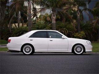 2002 Toyota Crown JZS171 Athlete White 4 Speed Automatic Sedan