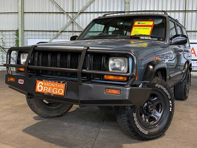 Used Jeep Cherokee XJ Limited Rocklea, 1998 Jeep Cherokee XJ Limited Blue 4 Speed Automatic Wagon