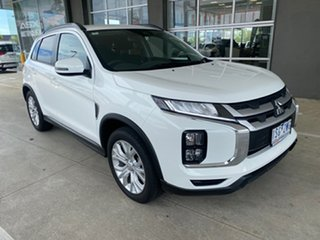 2020 Mitsubishi ASX XD MY20 LS 2WD Solid White 1 Speed Constant Variable Wagon.
