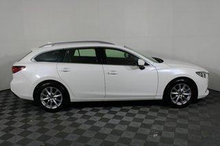 2017 Mazda 6 GL1031 Sport SKYACTIV-Drive White 6 Speed Sports Automatic Wagon.