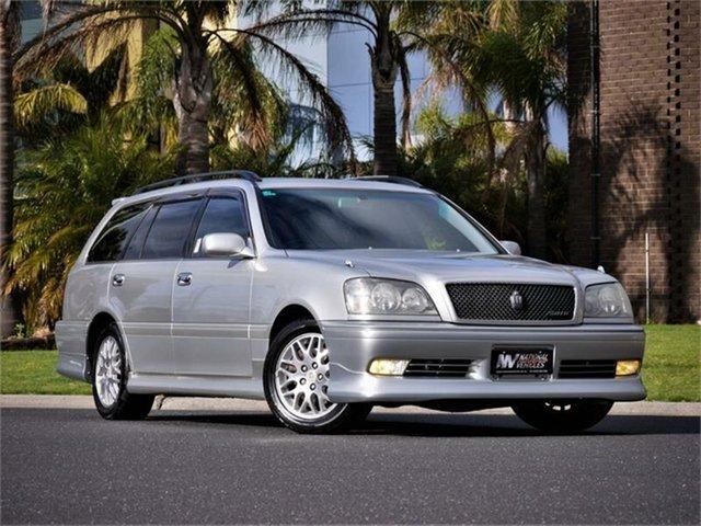 Used Toyota Crown Athlete Braeside, 2002 Toyota Crown JZS171 Athlete Silver 4 Speed Automatic Wagon