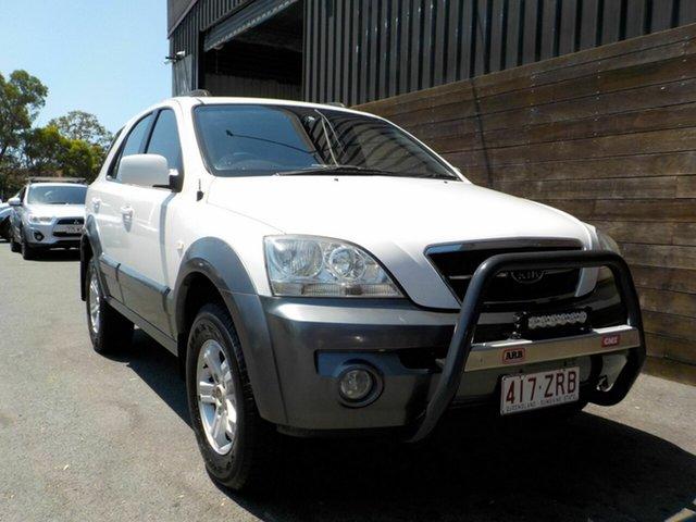 Used Kia Sorento BL EX Labrador, 2004 Kia Sorento BL EX White 4 Speed Automatic Wagon