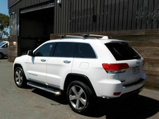 2013 Jeep Grand Cherokee WK MY2014 Limited White 8 Speed Sports Automatic Wagon
