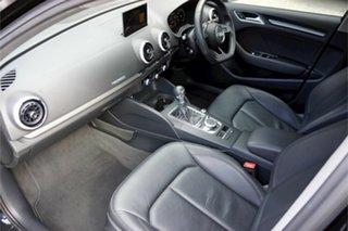 2017 Audi A3 8V MY17 Sport Sportback S Tronic Black 7 Speed Sports Automatic Dual Clutch Hatchback