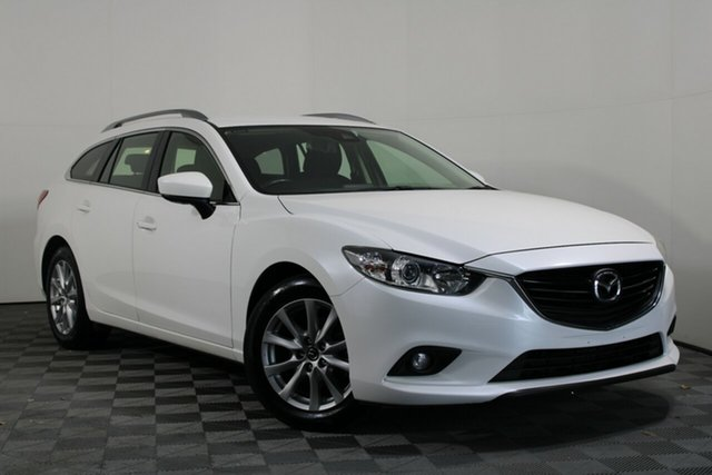Used Mazda 6 GL1031 Sport SKYACTIV-Drive Wayville, 2017 Mazda 6 GL1031 Sport SKYACTIV-Drive White 6 Speed Sports Automatic Wagon
