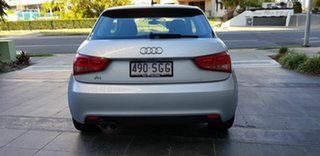 2012 Audi A1 8X MY12 1.4 TFSI Sport Silver 7 Speed Auto Direct Shift Hatchback