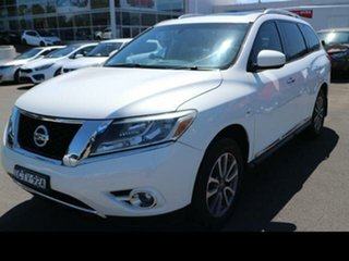 2014 Nissan Pathfinder R52 ST-L (4x2) White Continuous Variable Wagon