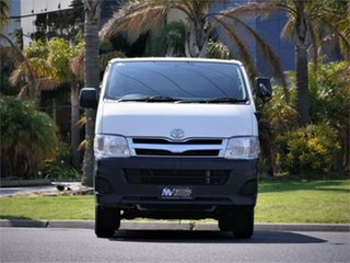 2013 Toyota HiAce KDH206V DX White 4 Speed Automatic Van.