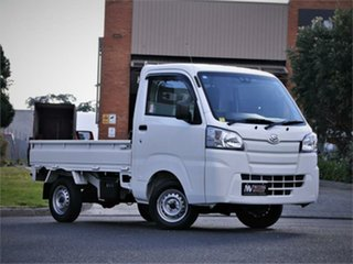 2018 Daihatsu Hi-jet S500 Truck White 5 Speed Manual Utility.