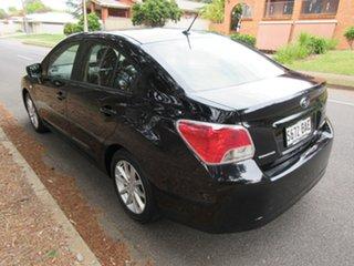2013 Subaru Impreza G4 MY13 2.0i Lineartronic AWD Black 6 Speed Constant Variable Sedan