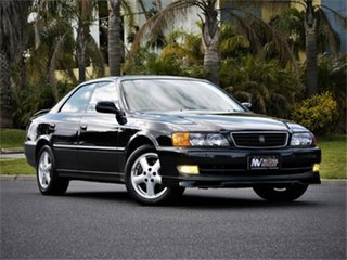 1997 Toyota Chaser JZX100 Tourer V Green 4 Speed Automatic Sedan.