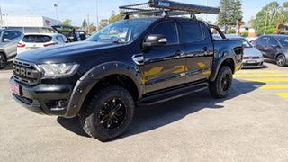 2018 Ford Ranger PX MkII 2018.00MY XLT Double Cab Black 6 Speed Sports Automatic Utility