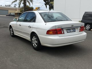 2001 Kia Optima GD White 4 Speed Sports Automatic Sedan