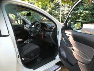 2017 Mitsubishi Triton MQ MY16 Upgrade GLX White 5 Speed Automatic Dual Cab Utility.