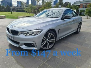 2017 BMW 4 Series F32 420i M Sport Silver 8 Speed Sports Automatic Coupe.