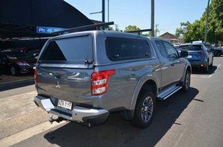 2018 Mitsubishi Triton MQ MY18 GLX Plus (4x4) Grey 5 Speed Automatic Club Cab Pickup.