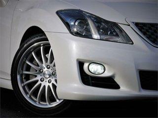 2008 Toyota Crown GRS204 Athlete White 6 Speed Automatic Sedan.