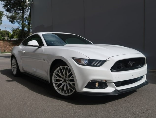 Used Ford Mustang FM GT Fastback SelectShift Reynella, 2016 Ford Mustang FM GT Fastback SelectShift White 6 Speed Sports Automatic Fastback