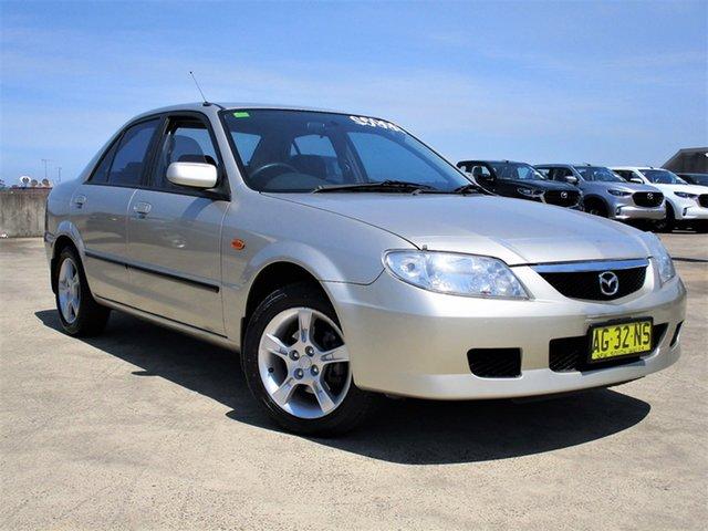 Used Mazda 323 BJ II-J48 Protege Shades Brookvale, 2003 Mazda 323 BJ II-J48 Protege Shades Gold 5 Speed Manual Sedan