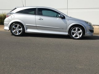 2008 Holden Astra AH MY08 SRi Silver 6 Speed Manual Coupe.