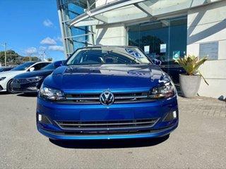 2021 Volkswagen Polo AW MY21 70TSI DSG Trendline Reef Blue Metallic 7 Speed.
