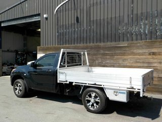 2012 Mazda BT-50 UP0YD1 XT 4x2 Black 6 Speed Manual Cab Chassis